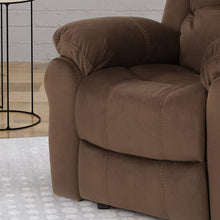 Gliding Recliner, Chocolate + Black