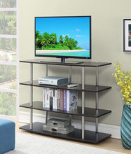 Highboy TV Stand, X-Large, Black