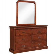 Camande Designs Bedroom Furniture Set, Queen Size Bed, Dresser, Mirror, Nightstand, Oak Finish (Dresser Mirror)