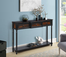 Console Table Sofa with Drawers Luxurious and Exquisite Design, for Entryway (Beige)