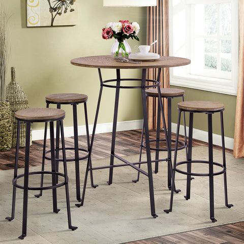Camande Furniture Signature Design - Challiman Bar Stool - Pub Height - Set of 2