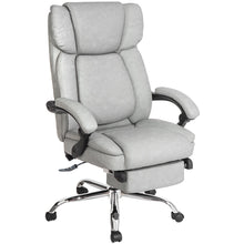 CAMANDE Inno Series Executive High Back Napping Chair with Ajustable Pivoting Lumbar & Padded Footres