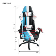 CAMANDE Justice Series Racing Style Gaming Chair Ergonomic High Back PU Leather