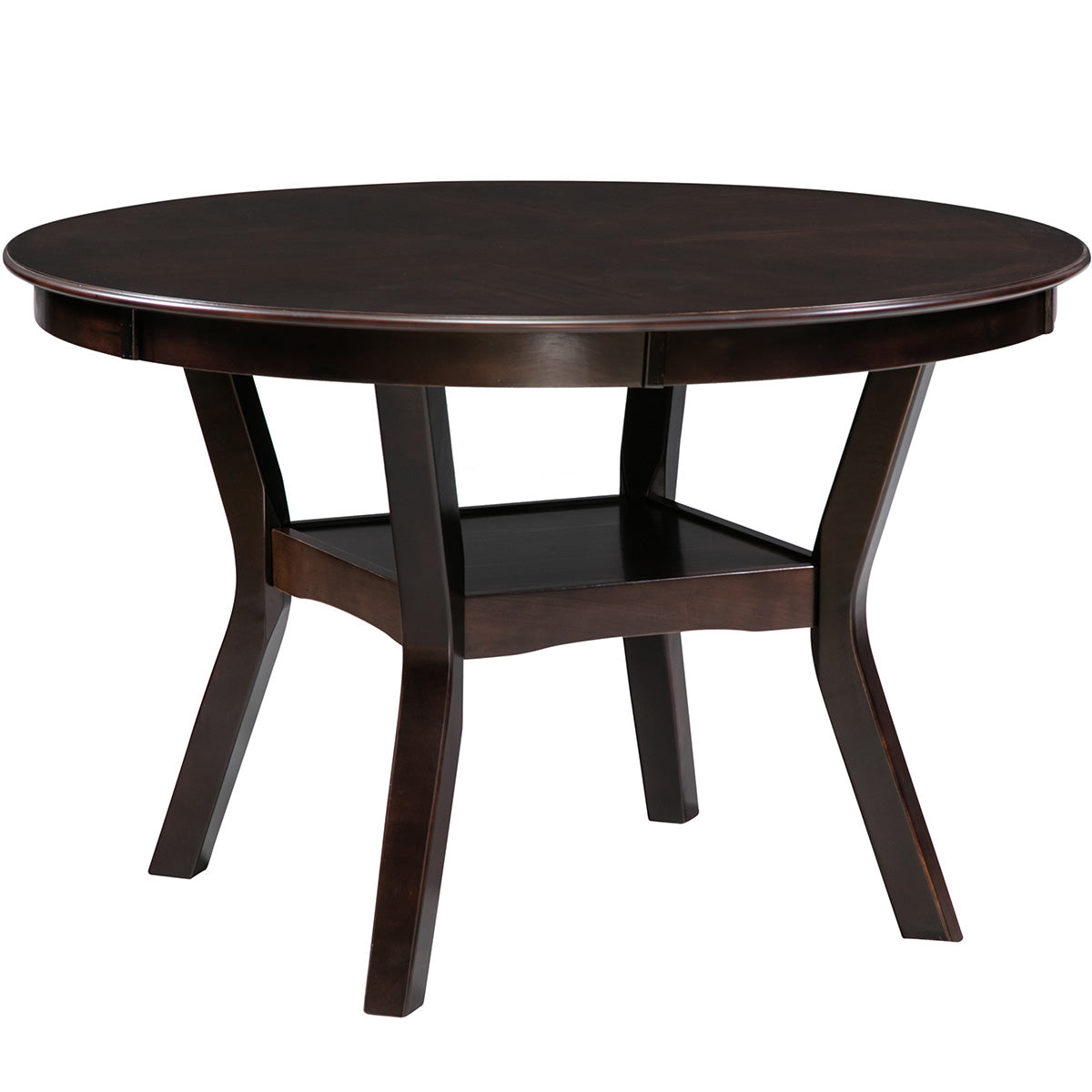 Camande Dining Table, Dining Room Furniture, Espresso,48-Inch (Espresso)