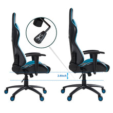 CAMANDE High Back Chair Computer Desk Chair Adjustable Swivel Chair with Lumbar Support and Headrest