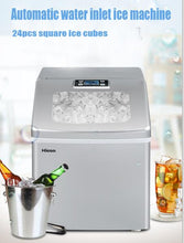 large capacity small automatic Ice Maker Small Type Ice Cube Maker Fully Automatic Ice Making Machine