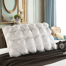48*74cm Luxury 3D Style Rectangle White Goose/Duck Feather Down Pillows Down-proof 100% Cotton Bedding Pillow 063
