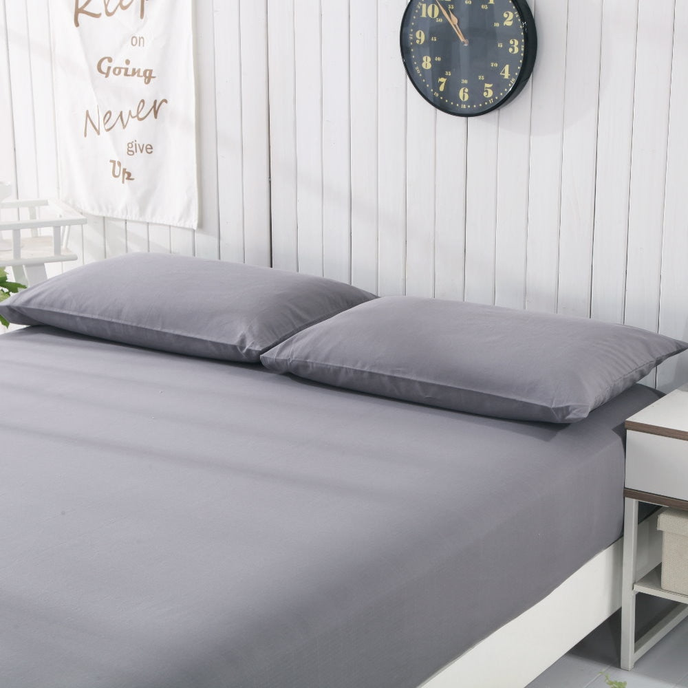 Earthing Pillow case (50*75cm) 2 pcs  Grounding Cotton Silver Conductive kit Revitalize and Energize Gray color
