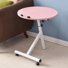 Movable Lift Desk Round Adjustable Tea Table Coffee Tables Home Furniture