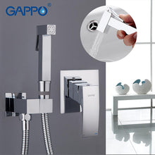 Gappo bidet faucet Bathroom bidet shower set Shower faucet toilet bidet muslim shower Brass wall mounted washer tap mixer
