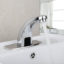 Bathroom Faucet Kitchen Automatic Sensor Hands Free Brass ORB Black Chrome Polished Swivel Mixer / Single Cold Tap