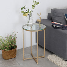 Nordic Gold metal bedside table Marble desktop side table flower modern living room sofa side tables furniture coffee table