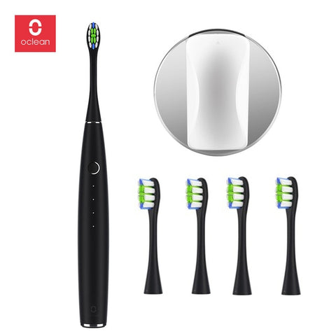 Xiaomi Oclean One Electric Toothbrush Set with 4 Brush Heads and 1 Wall-mounted Holder APP Control Rechargeable Tooth Brush XJ30