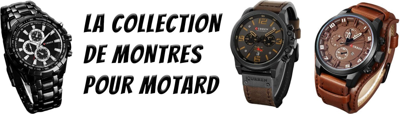 Collection de montre motard