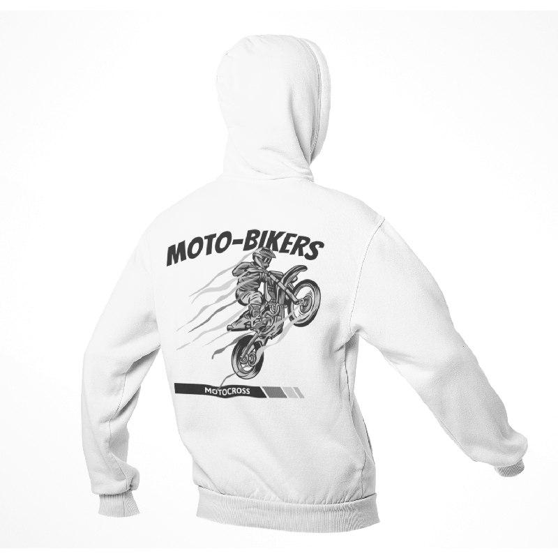 Sweat Biker <br> Sweatshirt Moto Cross.