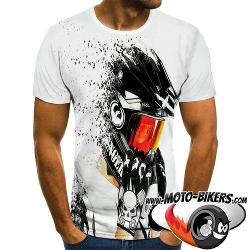 T Shirt Motard <br> T Shirt MX.