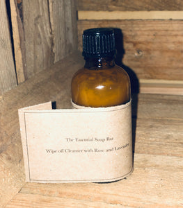 Wipe off Cleanser with Rose and Lavender