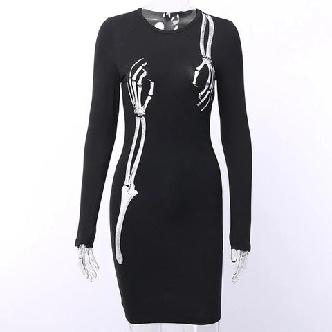 Vestido SkeletonHands