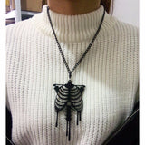 Colar Black Skeleton