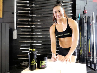 THE IRON ARMY SIGNS CROSSFIT REGIONALS NEWCOMER & US NATIONAL GUARD SPECIALIST MICHELLE KWAK