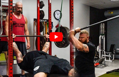 Advanced Bench Press Training with Coach Phil Daru