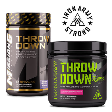 THE RETURN OF MISSION 6 THROWDOWN PRE-WORKOUT?