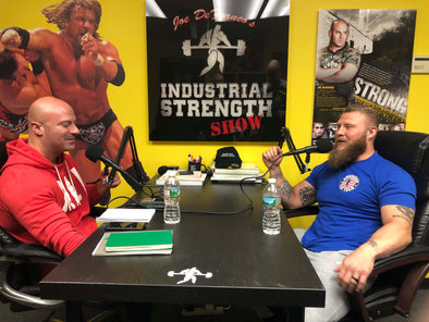 Team Iron Army's Phil Daru on Joe Defranco's Industrial Strength Podcast Episode 185