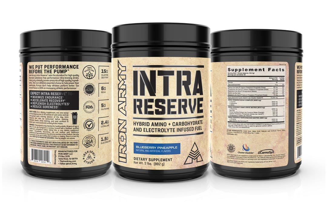 Intra Reserve Blueberry Pineapple