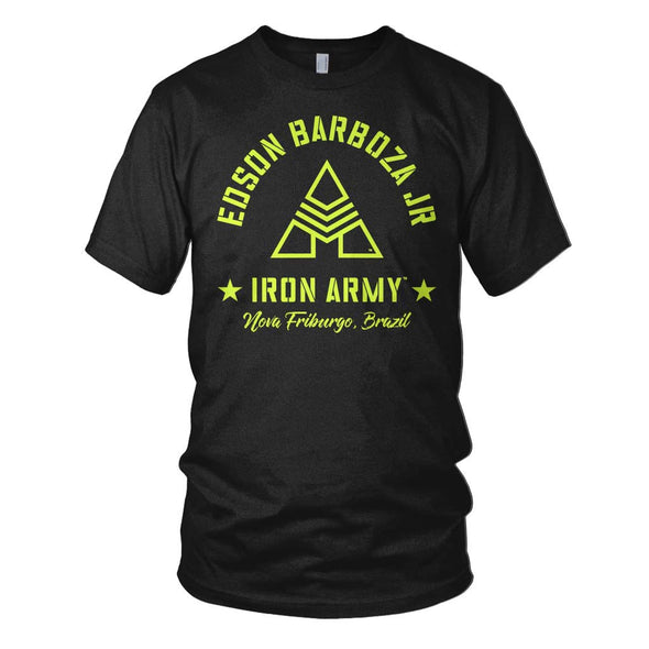Edson Barboza Jr. Iron Army T-shirt