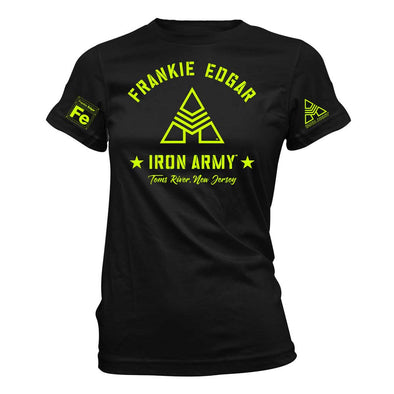 Women's Frankie Edgar Iron Army T-shirt