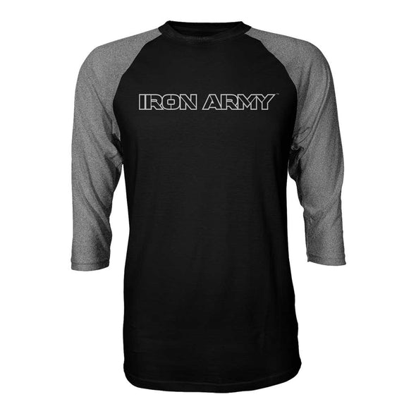 Iron Army 3/4 Sleeve Jersey - Black