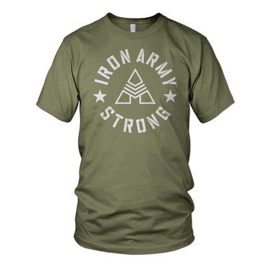 Iron Army Strong Olive Men's T-shirt