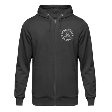Iron Army Strong Zip Hoodie