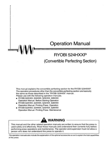 ManualsPdf Download  Hardcopy Page   Ryobi Press Parts