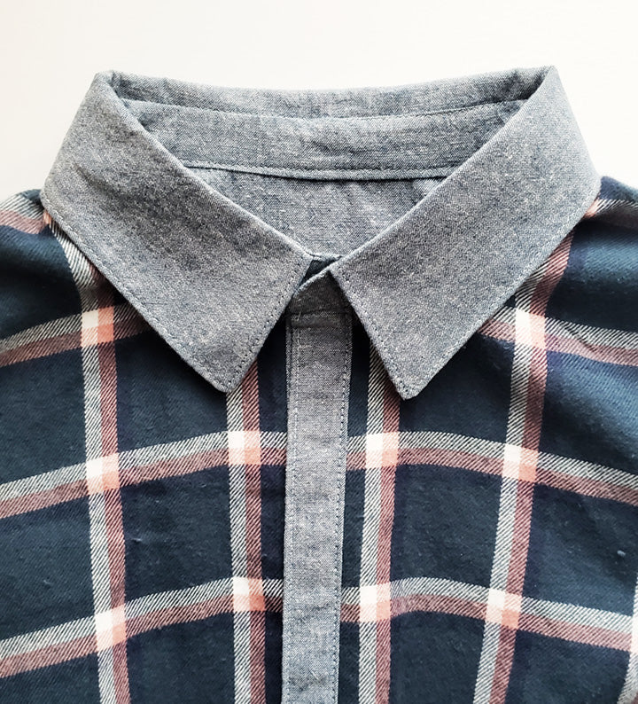 Shirtmaking: An Alternate Method for Making a Collar