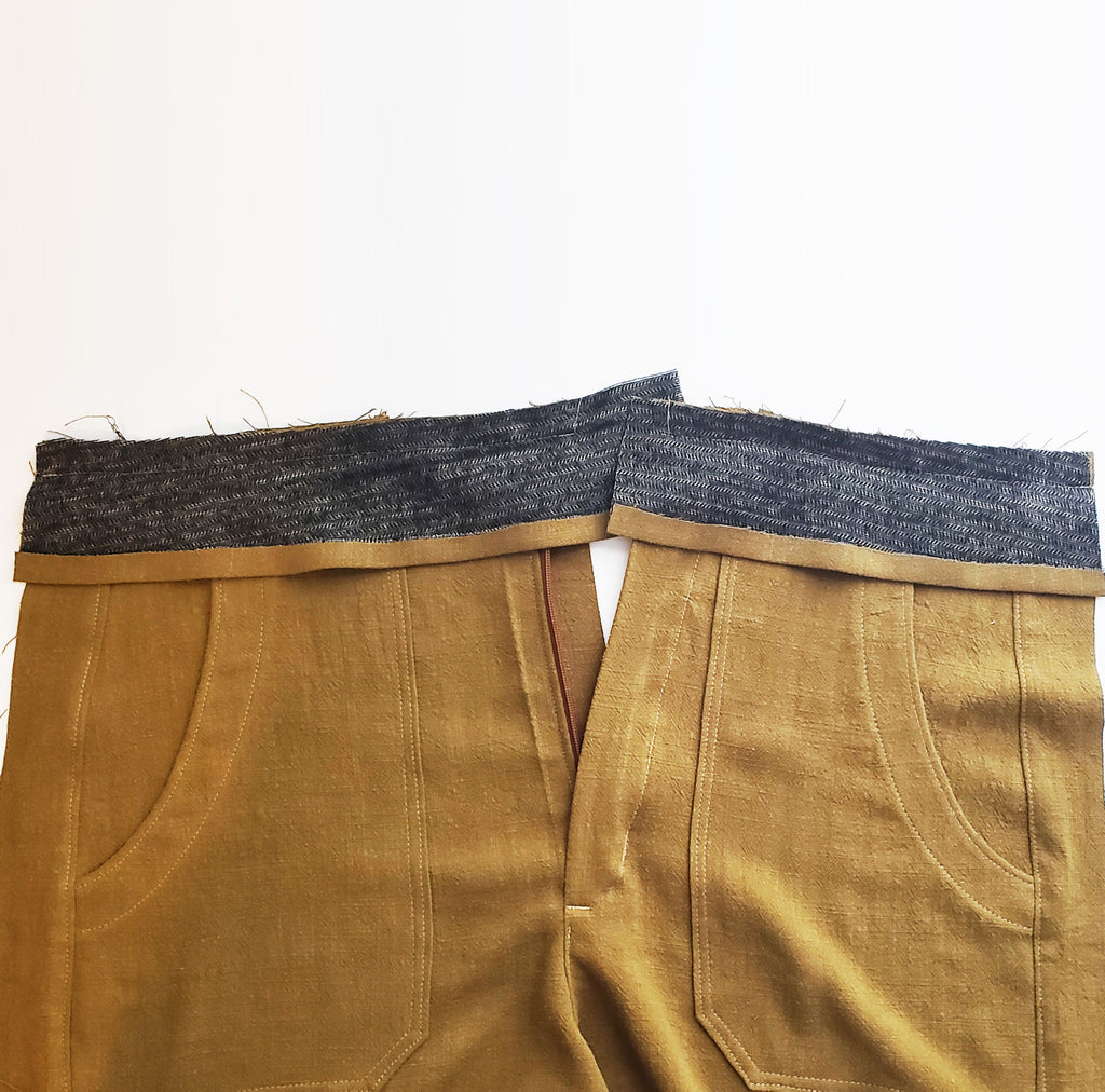 Nellie Joggers + Shorts Sewalong, Part 3: Waistband Facings
