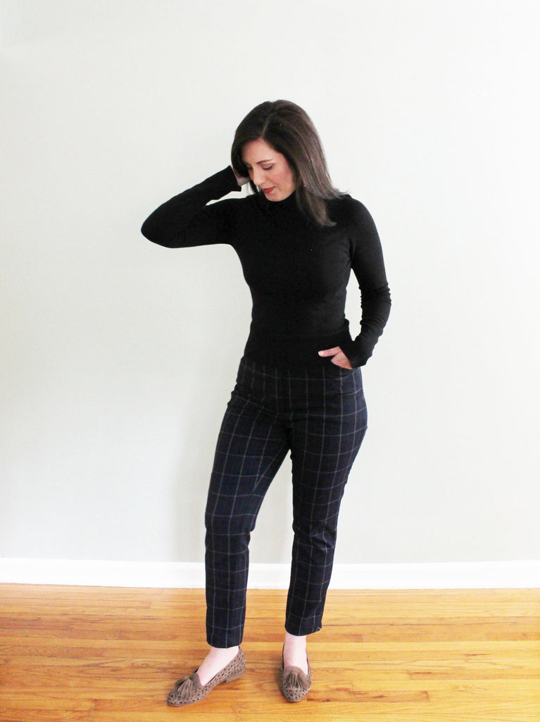 High Waisted Sasha Trousers Pattern Hack