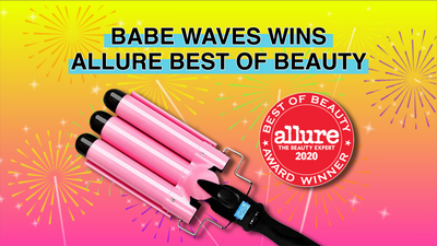 BABE WAVES WINS ALLURE BEST OF BEAUTY