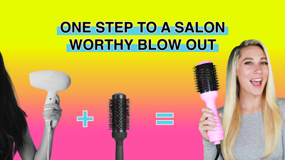 One Step To A Salon Worthy Blowout