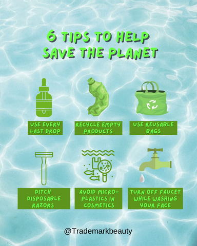 6 Tips To Save the Planet