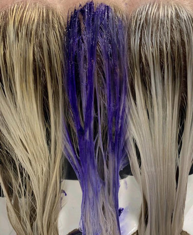 What Does Purple Shampoo Do To Your Hair?– Trademark Beauty