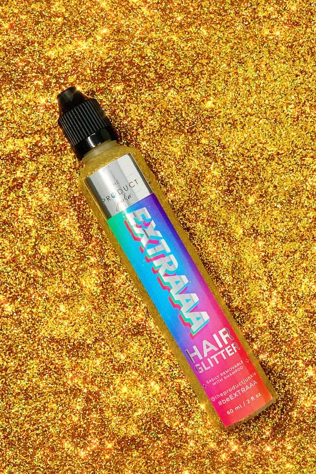 Gold Hair Glitter Gel - Trademark Beauty