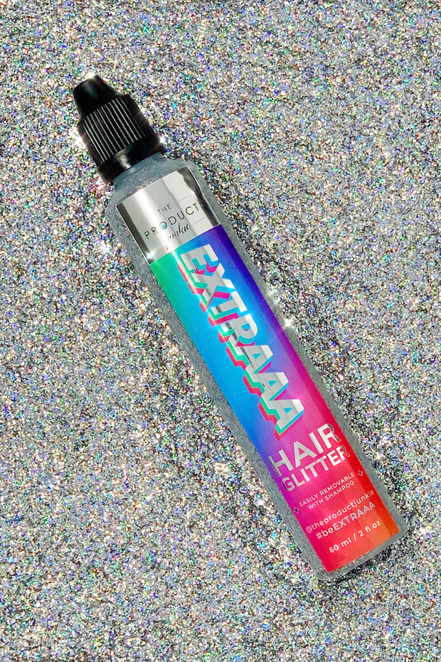 Silver Hair Glitter Gel - Trademark Beauty