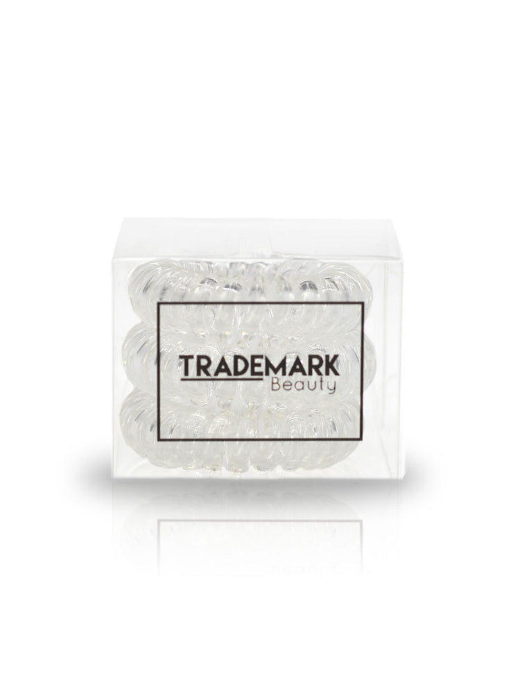 Clear Hair Coils - 3 pack - Trademark Beauty
