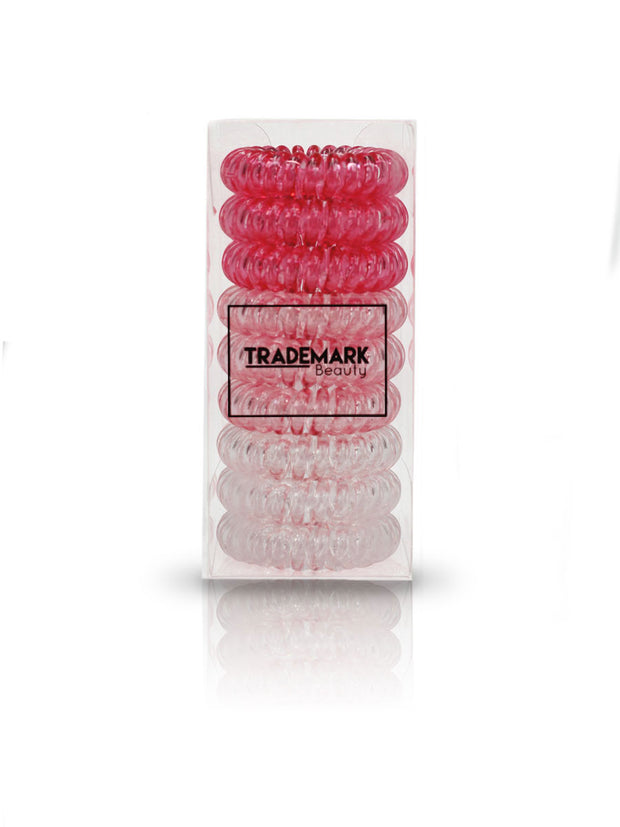 Pink Set Hair Coils - Trademark Beauty