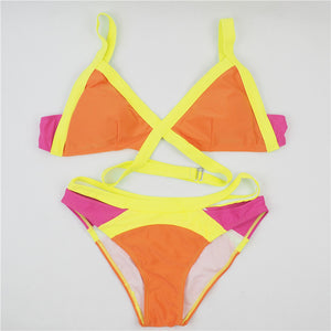 Women Push up Swimsuit