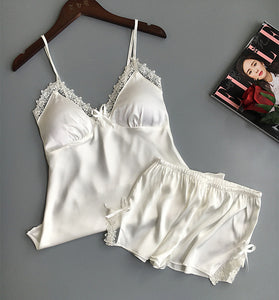 Two Piece Set Women Sleepwear