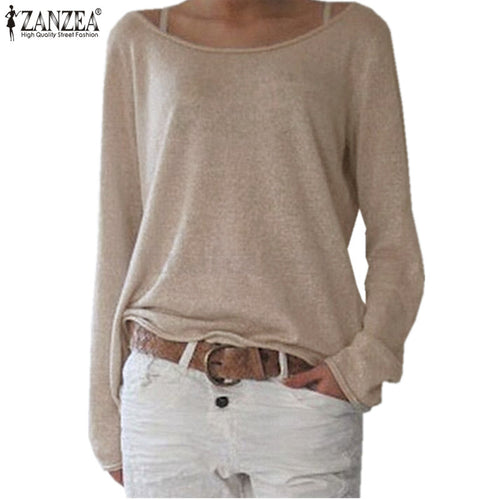Casual O Neck Long Sleeve Shirt