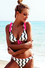 Bandage Halter Push Up Bathing suits