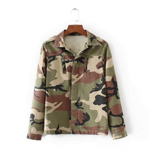 Camouflage Green jacket
